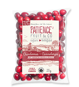 Organic Fresh Whole Cranberries