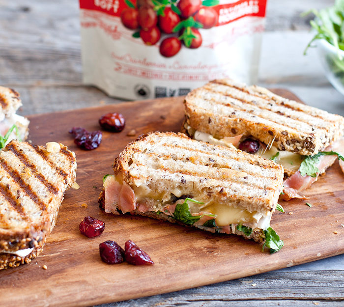 croque monsieur with brie crispy pancetta cranberries. Black Bedroom Furniture Sets. Home Design Ideas