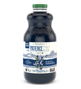 100% pure wild blueberry juice