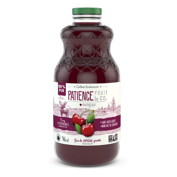 cherry juice, not made from concentrate, natural, pure juice, organic, no added sugar, antioxidant, cocktail, ocean spray