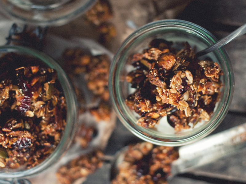 collations-recettes-bloggeurs-canneberges-granola
