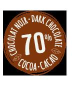 Pastille cacao 70 pourcents