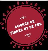 Source de fibres et de fer