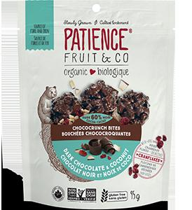 Bouchées chococroquantes au chocolat noir et noix de coco bio