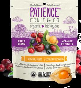 Mélange de 4 fruits séchés bio sucrés au sucre de canne et entiers