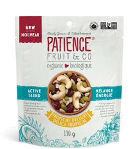 Organic Mixed Nuts : Tropical Delight Active Blend