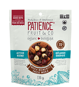 Organic Mixed Nuts : Moka Moments Active Blend