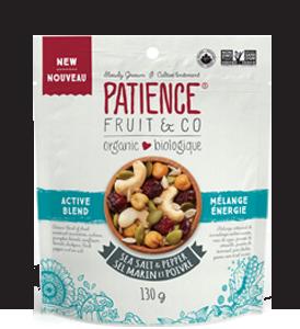 Mélange de noix et fruits séchés bio : Sel Marin et Poivre