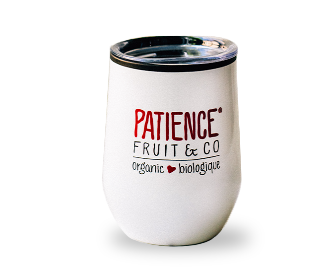 Verre isotherme Patience Fruit and Co